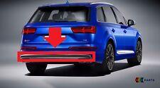 Nuevo Genuino Audi Q7 16-17 Trasero S LINE PARACHOQUES Difusor Inserto Molduras 4M0807834