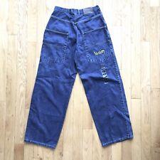 Vtg 90s URBAN Brand Baggy Jeans Rave Skate Hiphop Jnco Kick Wear Caffeine Sz 30