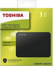 Disco Duro Esterno Toshiba 1 TB (1000 GB) USB