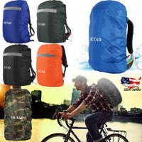 OUTAD Waterproof Dust Rain Cover Travel Hiking Backpack Camping Rucksack Bag USA