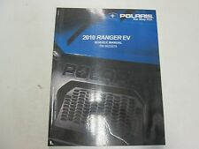 2010 Polaris Ranger EV Service Repair Shop Workshop Manual FACTORY NEW