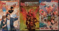 PrePocalypse & NowPocalypse Beyond Reality Softcover GRAPHIC NOVEL LOT VG RARE