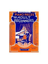 Learn to Play Piano Pieces For Adult Beginners Chopin Liszt Mozart MUSIC BOOK