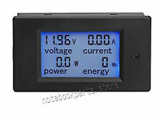 New  Digital Multimeter DC 6.5-100V 20A Voltage Amperage Power Energy Meter