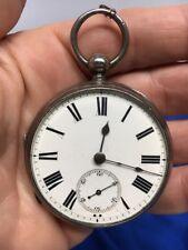 Antique Pocket Watch Verge Fusee JW Ramsay Felling On Tyne Nice Vintage