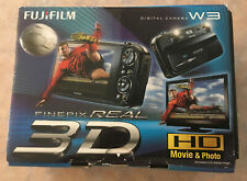 Fujifilm FinePix REAL 3D W3 10.0 MP Digital Camera - Black - Unused In Box