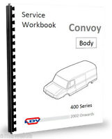 LDV Convoy Heater Locks Wipers Doors - Body Fittings Workshop Manual