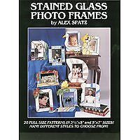 Stained Glass Photo Frames - Stained Glass Pattern Book Full Size Patterns