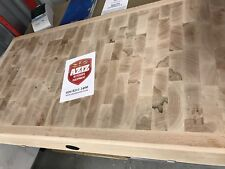 """4ft x 2ft x 7"""" Commercial butchers block Reversible With Stand"""