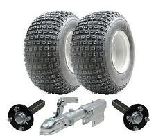Kit Remorque Atv-Remorque Quad-Wanda Roues + HUB & stub + Pivotant Hitch, 200kg