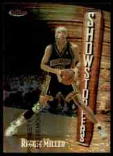 1997-98 TOPPS FINEST SHOWSTOPPERS REGGIE MILLER INDIANA PACERS #240