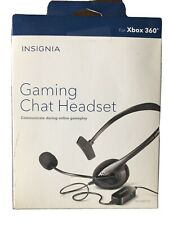 Insignia™ - Wired Gaming Chat Headset for Xbox 360 - NEW