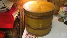 Antique Country Store Wood Barrel