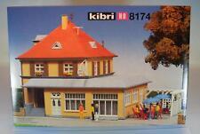 Kibri H0 Nr. 8174 Bausatz Kit Gasthaus mit Biergarten Pizzeria OVP #1470