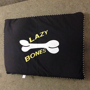 New dog bed lazy bones Pet dog bed / cat bed Quilted or Memory foam Washable