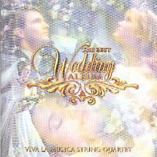 FREE US SHIP. on ANY 2 CDs! NEW CD Viva La Musica String Quartet: Best Wedding A