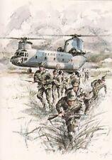 A2726) ALPINI SCENDONO DA UN ELICOTTERO CH - 47 DELL'ESERCITO.