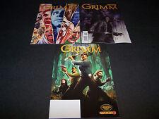 GRIMM #0 1 2 SET/3 ART COVER VARIANTS + FCBD EDITION SMASH HIT NBC TV SHOW