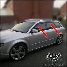Set 4 Déflecteurs de vent pluie air teintées Audi A4 B6 B7 2002-2009 Avant SW