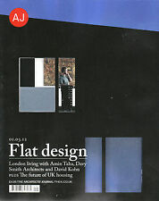 AJ ARCHITECTS' JOURNAL 01/03/2012 FLAT DESIGN: AMIN TAHA; DAVID KOHN @New@