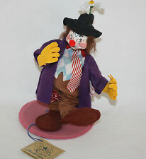 MWT 1994  ANNALEE HOBO, CLOWN DOLL