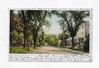 Vintage Postcard *** Main St *** RICHFIELD SPRINGS NY *** 1907