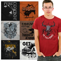 Country Western USA Tee Shirt Southern Graphic T-Shirt For Men Gift TShirts T