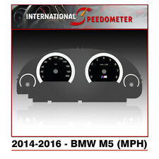 2014 - 2016 BMW M5 F10 Speedometer Faceplate (MPH)
