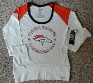 Denver Broncos 47BRAND Women's Long Sleeved Shirt
