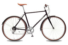Sale 20% OFF - Foffa Dandy hybrid city bicycle (Matte Black - Size Small)