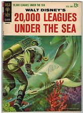 WALT DISNEY'S 20,000 LEAGUES UNDER THE SEA MOVIE COMIC 1963!