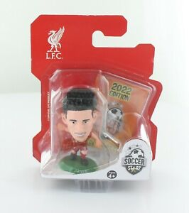Curtis Jones Liverpool SoccerStarZ 2022 MicroStars Green Base Blister