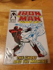 Iron Man #219 1st Appearance Of Ghost