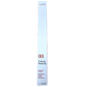 CLARINS EYEBROW PENCIL 03 SOFT BLONDE - NEW & BOXED - FREE P&P - UK
