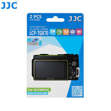 JJC LCD Guard Film Camera Screen Display Protector For Olympus Stylus TG-870/860