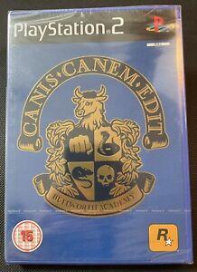Canis Canem Edit Ps2 Video Game New Sealed U.K. Pal Playstation 2