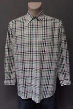 BOGNER Herren Shirt Gr. 42 Freizeithemd Mehrfarbig kariert Baumwolle Hemd TOP -6