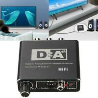 192Khz Optical Coaxial Digital to Analog Audio Converter Adapter L/R RCA L3I2