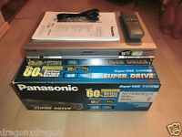 Panasonic NV-HS830 S-VHS ET Videorecorder in OVP, inkl. FB, 2 Jahre Garantie