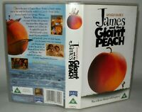 James And The Giant Peach- Roald Dahl- Children VHS Tape & Case, Collectable VHS