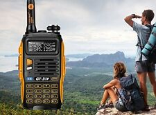 Handheld Radio Scanner Two 2 Way Digital Transceiver Police HAM VHF Antenna UHF