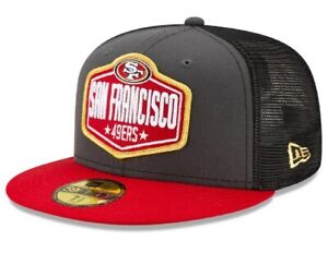 Official 2021 NFL Draft San Francisco 49ers New Era 59FIFTY Fitted Hat