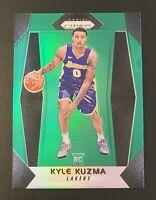 2017-18 KYLE KUZMA Prizm Green SP #283 Rookie RC Los Angeles Lakers🏆NBA Champ?