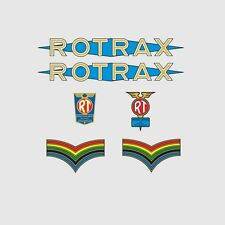 Rotrax Bicycle Frame Stickers - Decals - Transfers. n.1