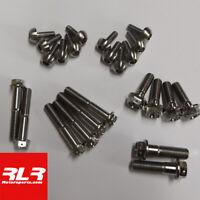 Drilled Honda CBR1000RR Fireblade 2009-12 Titanium caliper mount bolts M10x60,