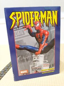 Marvel Spider-Man Statue Diorama Diamond Select Clayburn Moore ** AS NEW **