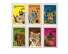 NIC8604 Animals 6 stamps