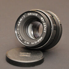 Helios 44-7 objetivamente m42 m52x0,75 mc 58mm 1:2 Helios - 44-7 made in USSR 90337698