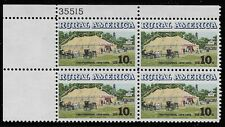 US Scott #1505, Plate Block #35515 1974 Rural America 10c FVF MNH Upper Left