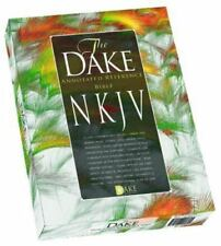 Dake's Annotated Reference Bible NKJV Black Leather soft by Finis J Dake NEW